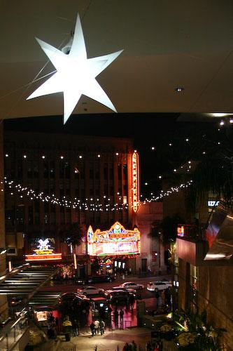 Vu sur Hollywood Blvd depuis le Kodak Theater