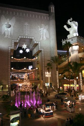 Place du centre commercial du Kodak Theater