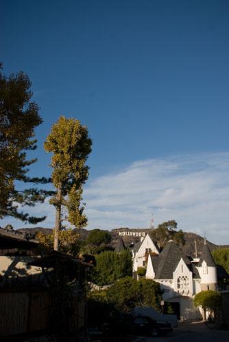Petite villa en dessous des Hollywood signs